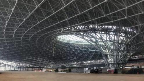 中国目前最雄伟建筑,总投资800亿,科幻堪比外星人基地
