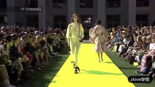 意大利潮牌MSGM 2020春夏女装系列时装秀