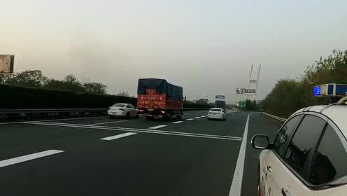 G4京港澳高速公路孝感东至孝南互通
