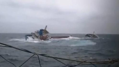 2艘大陆船只澎湖附近翻覆 12名船员失踪待救