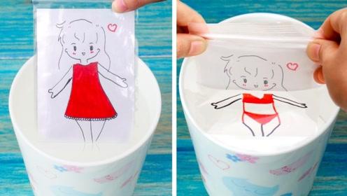5个DIY创意小技巧,没想到塑料袋还能这样玩,太有趣了