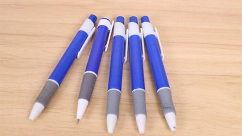 才发现圆珠笔上隐藏着4个小秘密,越早学会不吃亏,太实用了