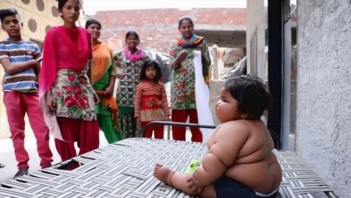 世界上最能吃的小孩,父母都都快养不起了,却被当地人奉为神童!