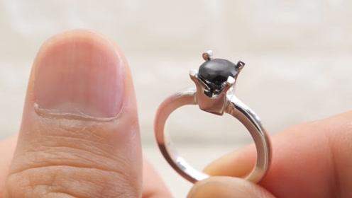 看着不起眼的指甲,被老外做成了一枚戒指,高手果然在民间