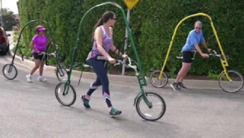 没有脚踏板的自行车,全靠双腿蹬,骑过的人大呼:爽到再也离不开!