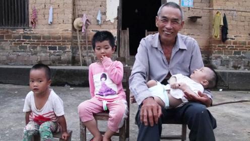 老人连生3个女儿后,71岁终于生下一个儿子,如今生活让人心疼