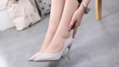 长期穿高跟鞋和平底鞋的女生,20年后将会有什么变化?网友:太可怕!