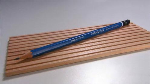 铅笔芯是如何塞进木头里的?用了这么多年,看完总算解开疑惑