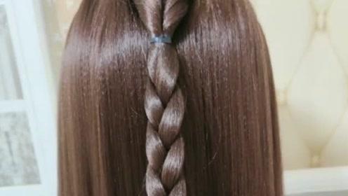 长头发这样扎轻松告别老大妈马尾,特别减龄哦!