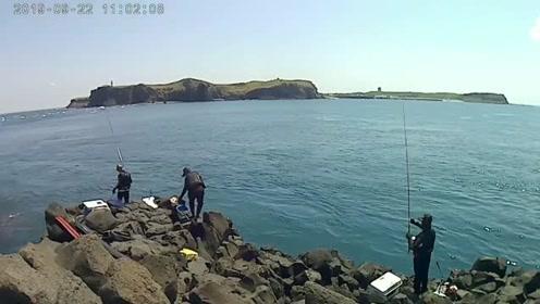海钓,钓鱼要到岛上钓,果然没说错