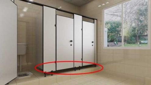 为什么公共厕所的下面,要留一条缝隙?答案不便直说!