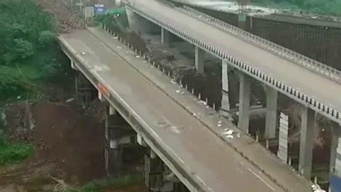 高架桥爆破,瞬间粉碎,不要眨眼!