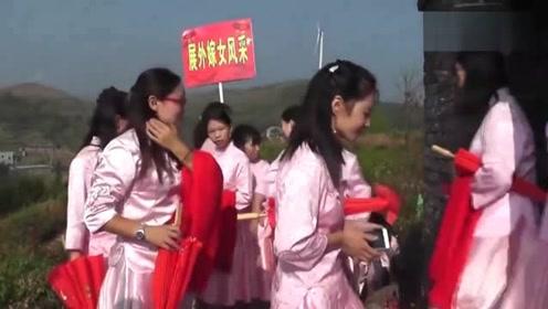 实拍广东农村外嫁女回娘家,这样的活动好有意义,带你去看看