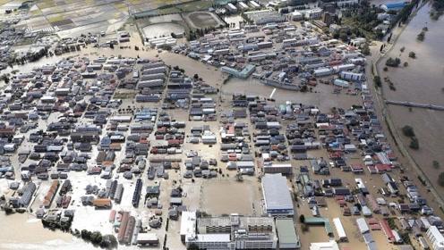 强台风袭击日本已致36人死亡 核辐射垃圾被冲入河中