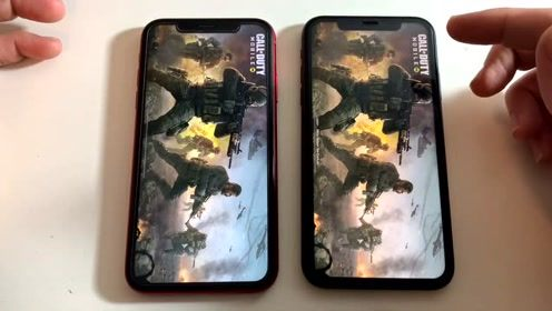iPhone 11与iPhone XR速度及安兔兔跑分对比测试