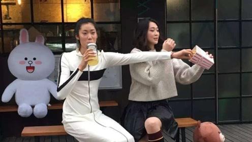 惠若琪一条微博达成2个目的!秀老公厨艺,力破和朱婷不和传闻