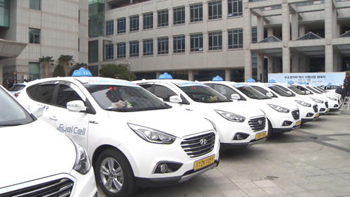韩国氢动力出租车上路,号称行驶的空气净化器,网友:依旧太遥远
