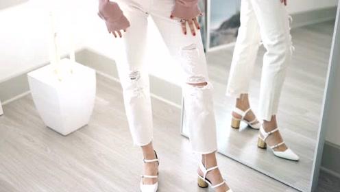 选择这样的牛仔裤,肯定让你彰显完美身材
