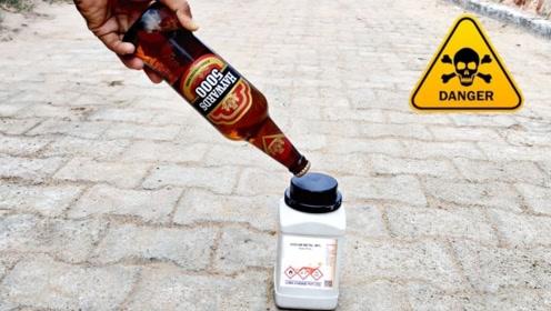 把金属钠放进啤酒里会发生什么?一点也不比放进水里逊色!