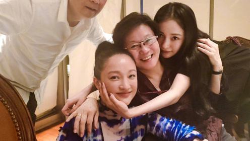 杨幂发文为周迅庆生,姐姐生日快乐,霸气上演摸脸