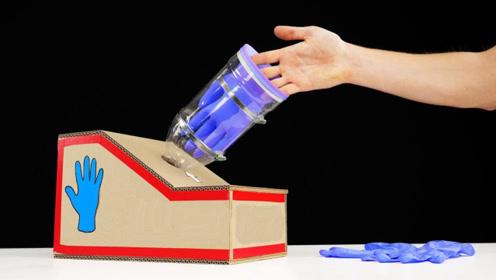 自制发明:见过戴手套的机器吗?快来点评一下这老外的新奇作品吧