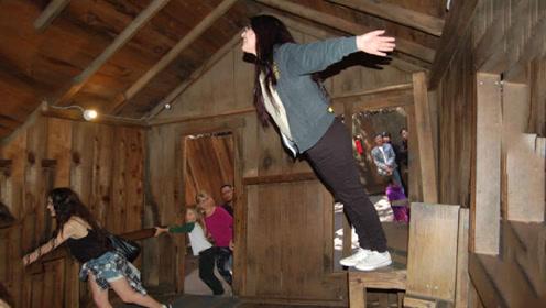 美国奇怪的小木屋,人进去倾斜45度都不倒下,科学家还在进一步研究!