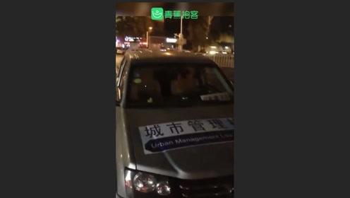 福州城管醉驾执法被交警查获,城管回复:人和车都是外聘的