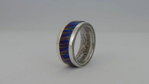 小哥用游戏币制作了一枚戒指,这样的戒指你觉得如何呢
