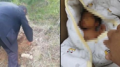 男婴活埋荒山,被救两个月后爷爷现身