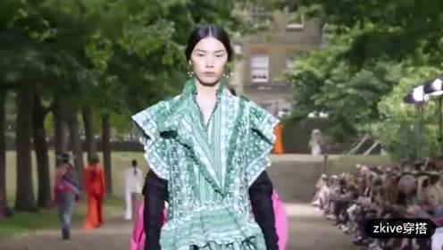 英国时尚服装品牌Erdem 2020春夏女装系列时装秀