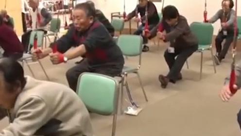 """日本""""不正经""""养老院成网红!洗脸散步成赚钱方式,玩游戏防痴呆?"""