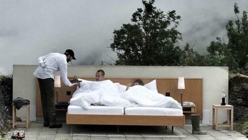 全球唯一一家零星级酒店,坐落在阿尔卑斯山上,露天客房太震撼!