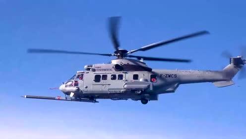 空客A-400M首次执行直升机空中加油任务