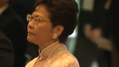 """过分!""""乱港""""媒体污蔑林郑月娥在日本天皇即位现场低头玩手机"""