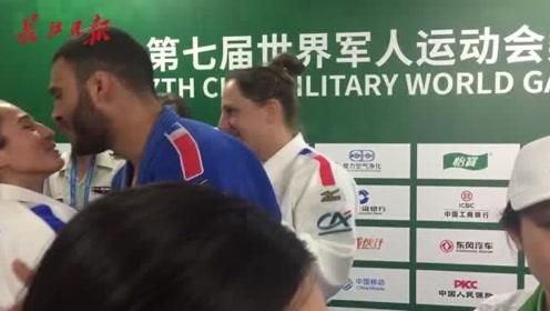 法国柔道运动员为武汉点赞:这里是一座友好的城市