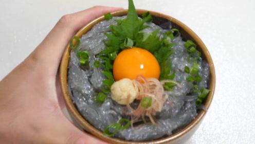 """日本的""""超鲜""""料理,生鱼仔拌生鸡蛋,你能受得了吗?"""