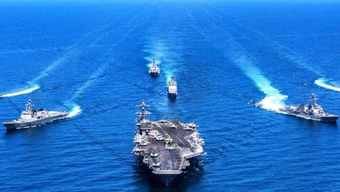 美航母群能拦截多少导弹?答案让国人不愿相信,甚至感到失望