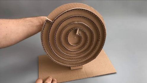 老外用硬纸板制作模型,看着完全停不下来!