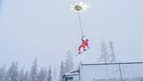 无人机都见过,那你见过可以带人起飞的无人机吗?太酷了