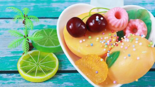 手工皂DIY,来制作橘子模型了,是怎么做的呢