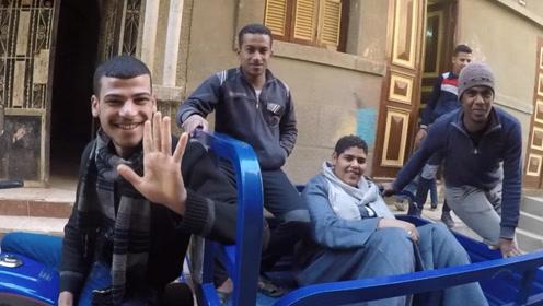 中国小伙搭车埃及人,司机娶了4个老婆,真人生赢家!【野蛮行走02】