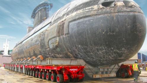 """""""基建狂魔""""中国造出霸气运输车,拥有1152个车轮,能拉动航母"""