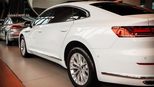 比奥迪奔驰颜值更高!最美轿跑车降3.3万,掀背尾箱,无框车门!