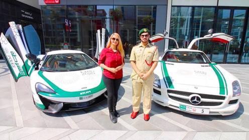 迪拜的交警有多牛?布加迪跑车一出场,让罪犯闻风丧胆!