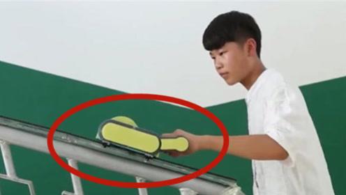 """13岁安徽天才少年,为爷爷发明""""爬楼神器"""",并一举获得国际金奖"""