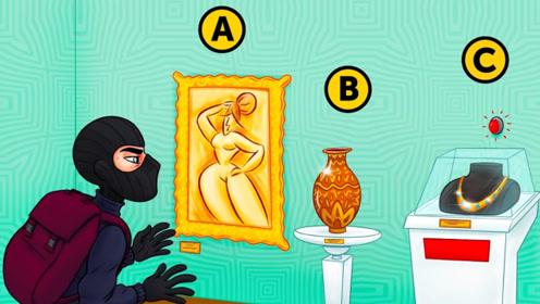 脑力测试:面前有3件宝物,小偷应该如何选择?