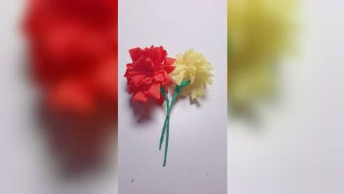手工花朵,你们喜欢吗
