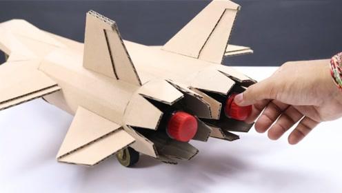 牛人竟用可乐驱动飞机喷气机,启动瞬间震撼全场,场面简直太壮观!