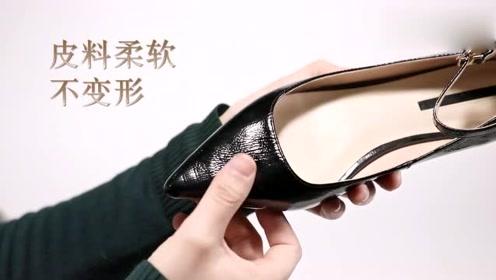 时尚高跟鞋,优雅细跟,穿它去逛街没有累脚,优雅不失女人味