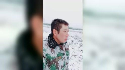 乌鲁木齐下雪了,你们想看吗?